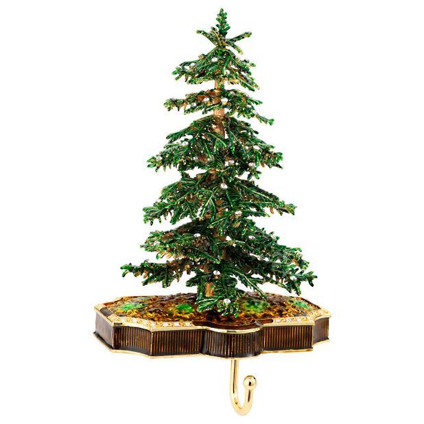 Christmas tree stocking holder frontgate for Christmas tree holder