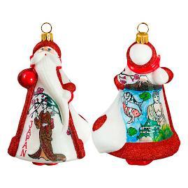Glitterazzi International Japan Santa Ornament