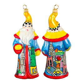 Glitterazzi International NTC Pop Art Santa Ornament