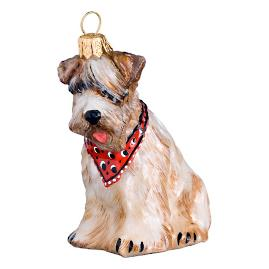 Soft Coated Wheaton Terrier Ornament