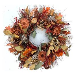 Rustic Elegance Wreath