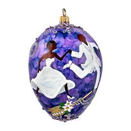The Ceremonial Egg Ornament