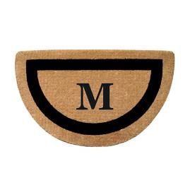 Classic Border Monogrammed Mat Frontgate