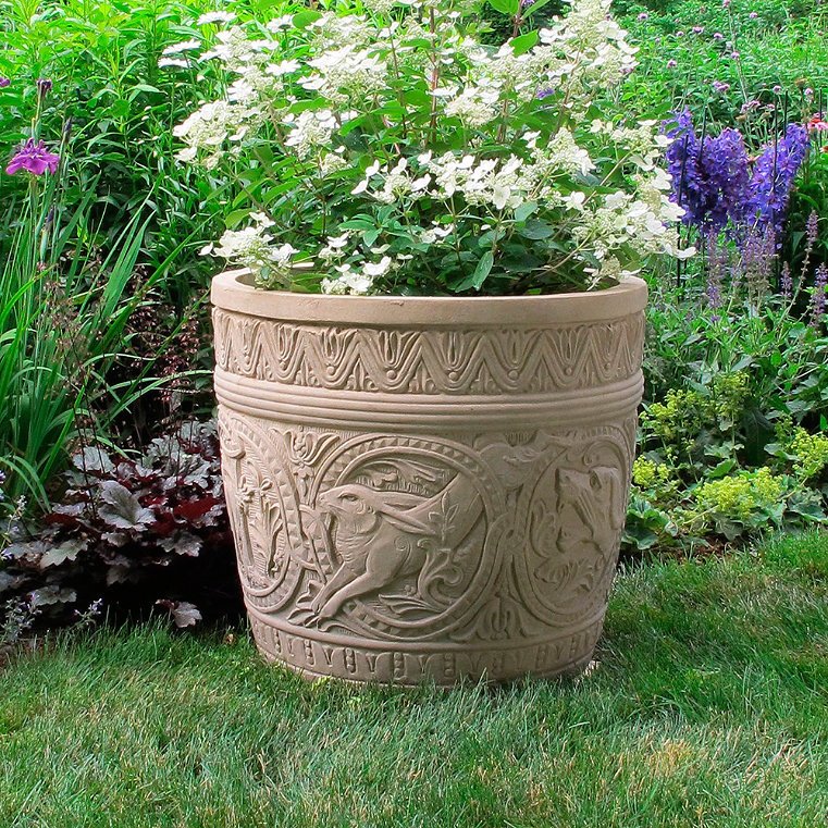 Fiberglass Flower Pots Amp Planters : Fiberglass outdoor planter frontgate