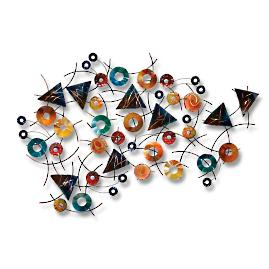 Kalaidoscope Outdoor Wall Sculpture