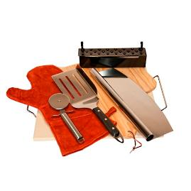 8-piece Premium Pizza Stone Kit