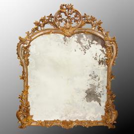 Louis Phillipe Hand Carved Mirror