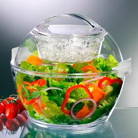 Iced Up Salad to Go Server