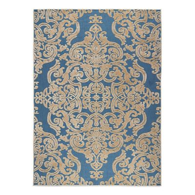 Monroe Medallion Outdoor Area Rug Frontgate