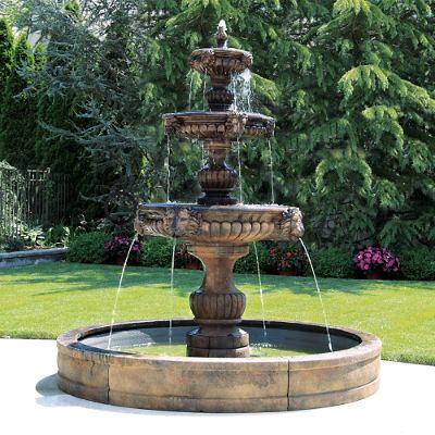 Three Tier Grandessa Fountain Frontgate