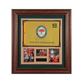 Rory McIlroy Signed 2012 PGA Flag Display