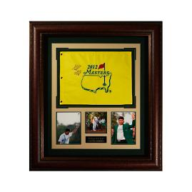 Bubba Watson Signed 2012 Masters Flag