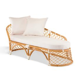 Bay Breeze Fixed Chaise Cover