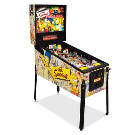 "Refurbished ""The Simpsons"" Pinball Party Pinball Machine"