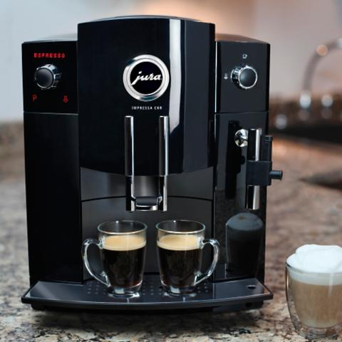 jura impressa c60 automatic coffee machine frontgate. Black Bedroom Furniture Sets. Home Design Ideas