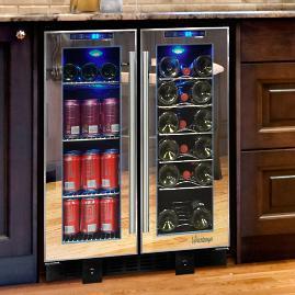 Vinotemp 36-Bottle Wine and Beverage Cooler