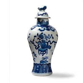 Ming Lidded Temple Jar
