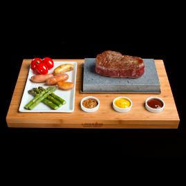 Lava Rock Cooking Stone Set