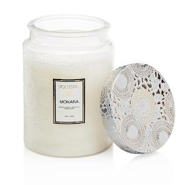 Voluspa Mokara Glass Candle