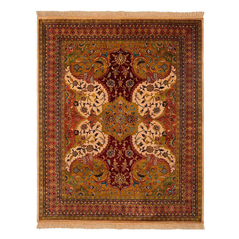 100 Wool Persian Area Rug: 100% Wool Persian Area Rug
