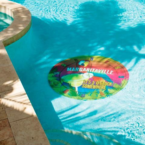 Margaritaville It S 5 O Clock Somewhere Pool Mat Frontgate