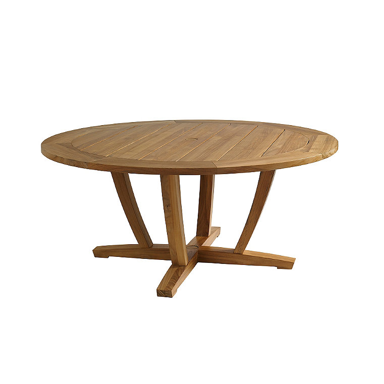 Round Teak Dining Table Frontgate