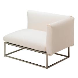 Cloud Right-facing Armchair by Gloster
