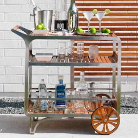 Tommy Bahama Tres Chic Bar Cart