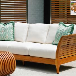 Tommy Bahama Tres Chic Sofa with Cushions