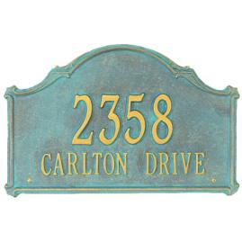 Carlton Wall Plaque