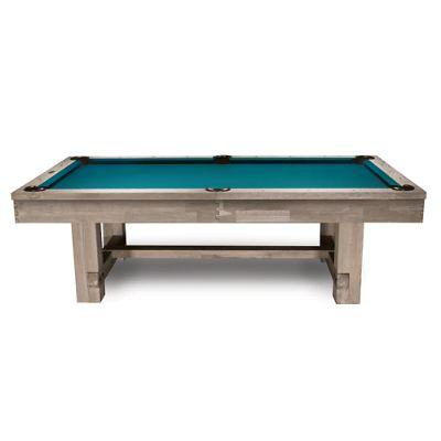 Tahoe Rustic Light Oak Pool Table Frontgate