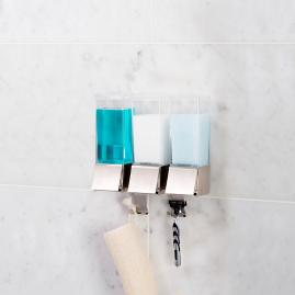Linea Triple Shower Dispenser