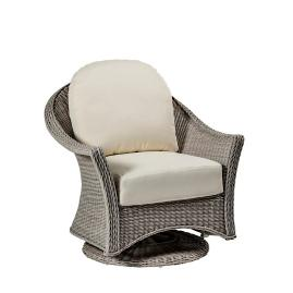 Regent Swivel Glider with Cushions by Summer Classics