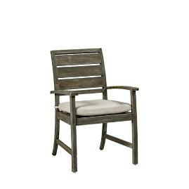 Charleston Teak Arm Chair with Cushion