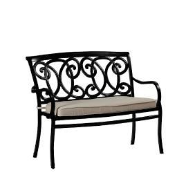 Somerset Bench with Cushion by Summer Classics