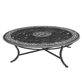 Black Olives Round Bistro Table