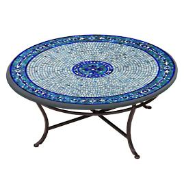 Seafoam Atlas Round Bistro Table