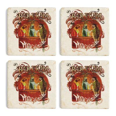 Margaritaville Bar Exam Marble Coasters Set Of Four