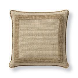 Miramar Natural Decorative Pillow