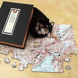 Heirloom Wooden Map Puzzle