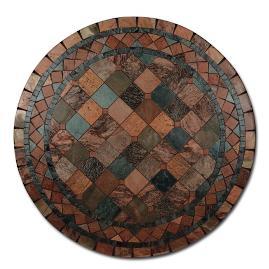 Karina Quartzite Mosaic Tabletop