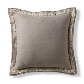 Capara Beaded Trim Decorative Pillow Frontgate