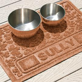 WaterGuard Personalized Fall Day Pet Mat