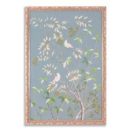 Buckhead Cockatoo Silk Wall Panel