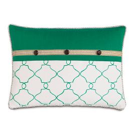 Lanai Moroccan Tile Decorative Pillow