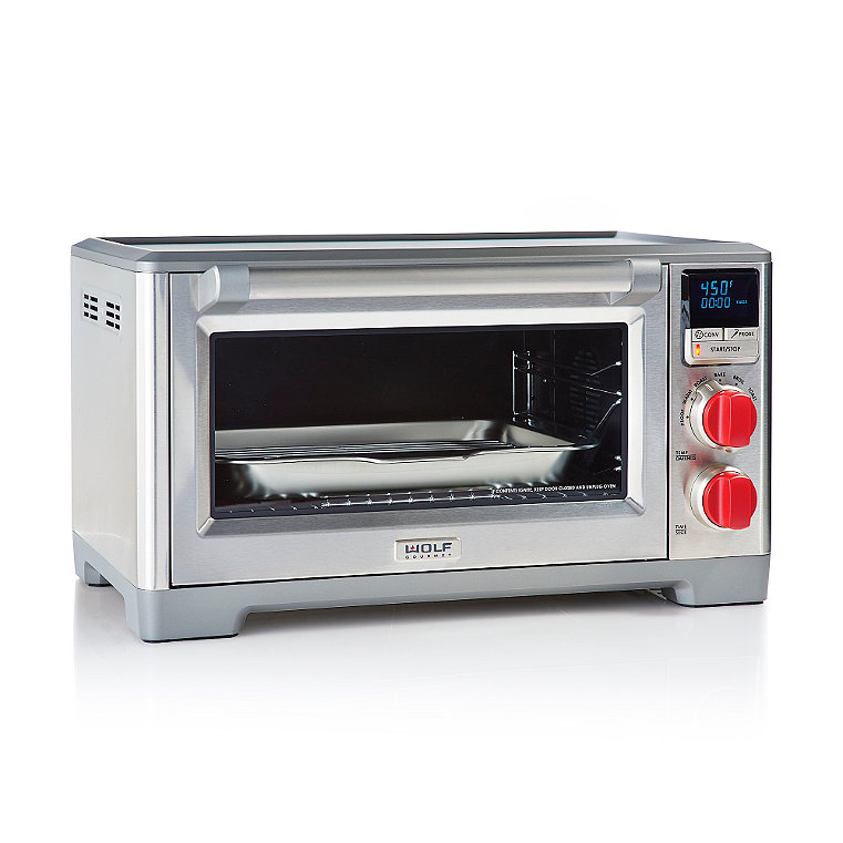Wolf Gourmet Countertop Oven Dimensions : Wolf Gourmet Countertop Oven with Convection