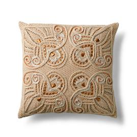 Moroccan Scroll Pillow