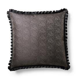 Falling Stars Pleated Ribbon Decorative Pillow