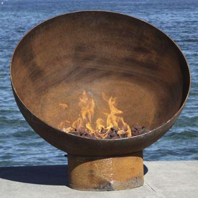 Meridian Sculptural Firebowl Frontgate