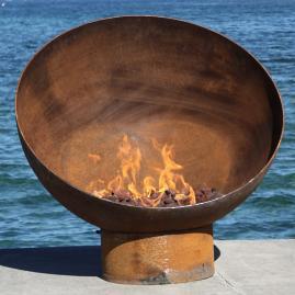 Meridian Sculptural Firebowl